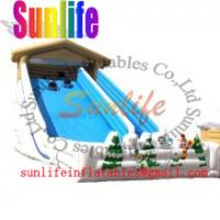 Wholesale inflatable bouncer castle giant slide from china suppliers