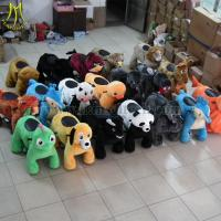Wholesale Hansel animal riding for kids coin operated dog walking machine from china suppliers