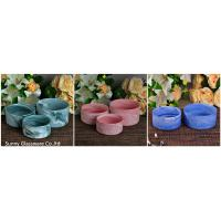 Hand-made 400ml Ceramic Candle Container 14OZ 20OZ 35OZ Three capacity Candle Jars