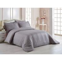 Wholesale Comfortable Hotel Bed Linen , 400T 3cm Satin Stripe 100% Cotton Bedding Sets from china suppliers