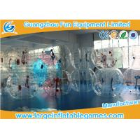 Wholesale 1.5m Inflatable Bubble Soccer Ball Human Hamster Ball Bumper Football Zorbing Ball from china suppliers