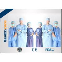 China SMS Disposable Surgical Scrubs , Disposable Medical Workwear Short Sleeves on sale