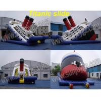 Wholesale Inflatable Titanic Slide, Inflatable Dry,Water Slide from china suppliers