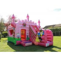 China Waterproof 5x4m Inflatable Jumping Castle Customised Birthday Parties Princess Palace on sale