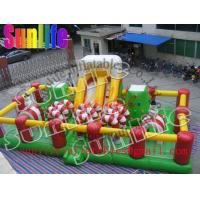 Wholesale Outdoor Inflatable Fun City / Jumping Obstacle Bouncy Castle For Children from china suppliers