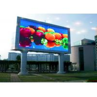 Wholesale Waterproof Fixed P10 Outdoor LED Advertising Billboards For Railways / Airports from china suppliers