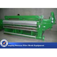 China 1/2'' Welded Wire Mesh Making Machine / Wire Mesh Equipment Low Noise on sale