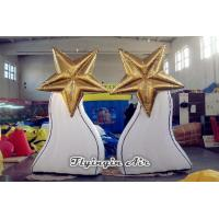 Buy cheap Decorative Inflatable Stand, Inflatable Light tree, Inflatable Led Star from wholesalers