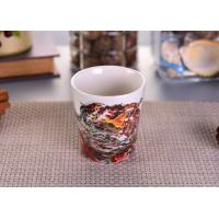 Wholesale Home Decorative Votive Ceramic Candle Holder Sets with Landscape Pattern from china suppliers