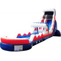 China Outdoor Activities Kids Inflatable Water Slide Silk Printing Waterproof on sale