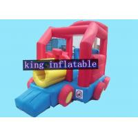 China Snail Shape Commercial Bounce Houses With Slide Of PVC Coated 210D Nylon Fabric on sale