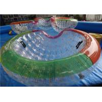 Wholesale Aqua Park Half Water Zorb Ball 0.7mm - 1.0mm TPU Inflatable Lake Toys from china suppliers
