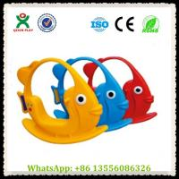 Wholesale Pre School Equipment Ricking Fish Riders Horse QX-155C from china suppliers