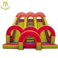 Wholesale Hansel  inflatable toy amusement park inflatable play area for children inflatable bounce house with slide from china suppliers
