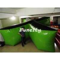 Wholesale Outdoor X Shape Tactical Air Inflatable Bunkers For Paintball Games from china suppliers