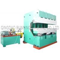 Buy cheap Precured Tyre Tread Vulcanizing Making Machine 500T / Customized Clamping Force from wholesalers