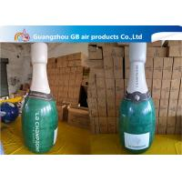 Wholesale Promotional Pvc Inflatable Champagne Bottle / Inflatable Beer Bottle For Sale from china suppliers