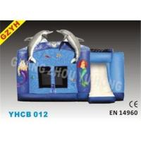 Buy cheap Fire - retardant 0.55mm PVC Dolphin Inflatable Combo Bouncers House YHCB-012 from wholesalers