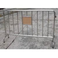 Wholesale Hot Dipped Galvanized Crowd Control Barirers Smart Design,Crowd Control Barricade from china suppliers