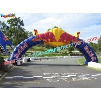 Quality Promotional Large Inflatables Advertising Arch Door rip-stop nylon material for sale