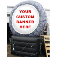 Wholesale inflatable product model replica / inflatable tire  / PVC Inflatable giant tire advertising from china suppliers
