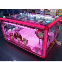 Wholesale Box Shape Prize Vending Machine Grabber Dolls Toy Crane Claw Machine from china suppliers