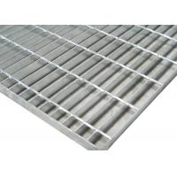 China Walkway Welded Steel Bar Grating With Fasteners Slip Resistance Surface on sale