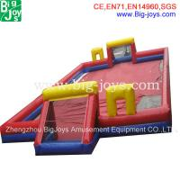 Buy cheap inflatable interactive, inflatable football field, sports inflatables from wholesalers