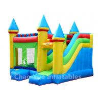 Wholesale Commercial Grade 0.55mm PVC Tarpaulin Inflatable Bounce House for amusement park from china suppliers