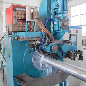 Dewatering Welded Bar Wedge Wire Drum Screen Machine , Wire Mesh Manufacturing Machine