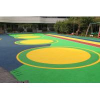 China Office Buildings Outdoor Playground Surface Material Anti Slip Flooring on sale