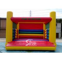 Wholesale Commercial grade kids N adults big inflatable jumping castle of fun station with EN14960 standard certificate FOR SALE from china suppliers