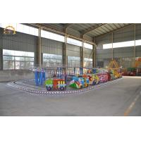 Wholesale 8 Kw Amusement Park Roller Coaster Game Mini Shuttle Ride 1.8 M / S Speed from china suppliers