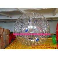 China Safe Waterproof Inflatable Human Hamster Ball Rental For Adults / Kids on sale