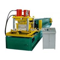 Wholesale 7.5 KW Galvanized Steel Purlin Roll Forming Machine With 6 Ton High Capacity from china suppliers