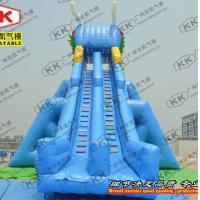 Wholesale Big Kahuna Inflatable Water Slide Fire-Resistant freestanding from china suppliers