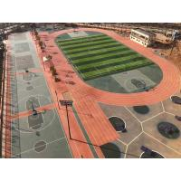 Wholesale High Elasticity Rubber Exercise Flooring , All Weather Synthetic Track Surface from china suppliers