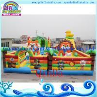 Wholesale QinDa inflatable bouncy castle, inflatable jumping castle from china suppliers