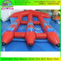 Buy cheap Top Quality Water Sled Fly Fish Boat Adult Sports Game Flying Boat Tubes Surfing from wholesalers