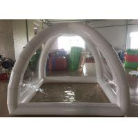 PVC Sealed Inflatable Party Tent Air Closed Tent 5X5X5m Or Customized