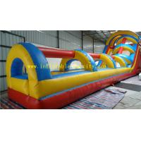 Wholesale Jungle Long Inflatable Dry Slide , Giant Inflatable Slip n Slide from china suppliers