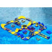 China 40 x 40 m 0.9mm PVC Huge Floating Inflatable Water Park for Water Sports on sale