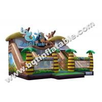 Wholesale Inflatable wave slide,Gaint water slide,water slide with pool,Commercial slide from china suppliers