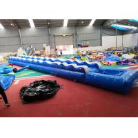 Wholesale Custom Inflatable Slip N Slide For Adult / Slip And Slide Water Slide from china suppliers
