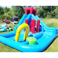 Wholesale Backyard Children Bouncy Castle Outdoor Inflatable Water Slides from china suppliers