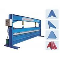 Wholesale Blue Color 4m Width Hydraulic Sheet Bending Machine For Galvanized Steel Coil from china suppliers