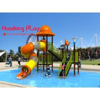 China Promotional Water Park Playground Equipment Plastic Reliable Long Life Span on sale