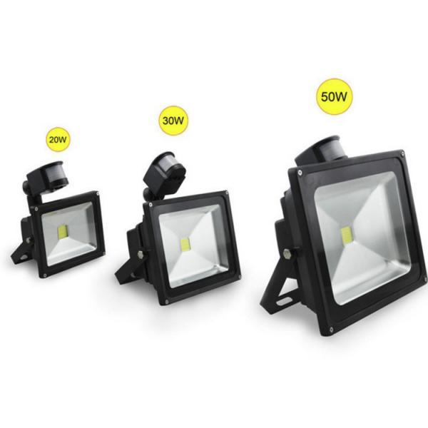 Quality Motion Sensor IP65 Outdoor LED Flood Light 10W 20W 30W 50W With CE ROHS for sale