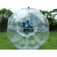 China Giant Human Sized Inflatable Bubble Ball , Body Bumper Bubble Ball On Water on sale
