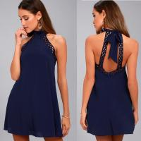 Wholesale sexy backless halter lady dress from china suppliers